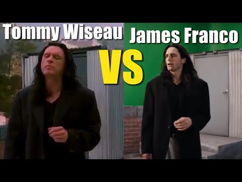 "Tommy Wiseau VS James Franco ""I did not hit her"" The Room"