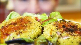 Chickpea & Coriander Burgers: Simple, Vegetarian Patties