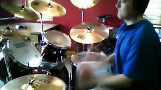 Larger than life drum cover