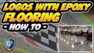 Logos With Epoxy Flooring - How To