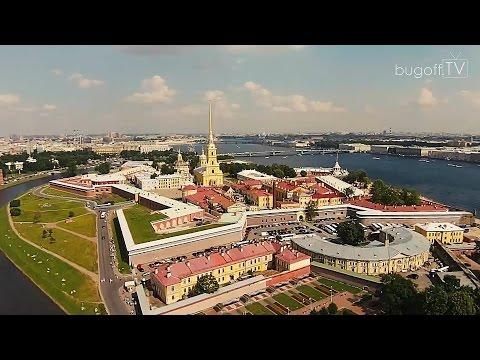 Санкт-Петербург с высоты птичьего полёта 2014 (bugoff.TV)