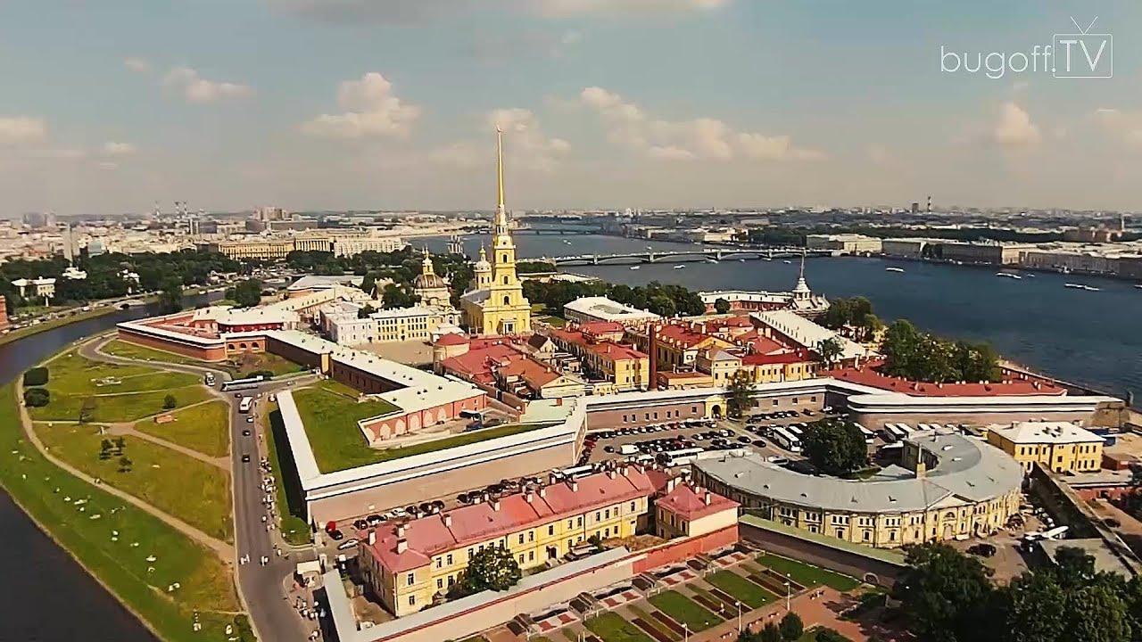 Санкт-Петербург с высоты птичьего полёта 2014 (bugoff.TV ...