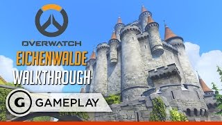 Overwatch - Eichenwalde Map Walkthrough