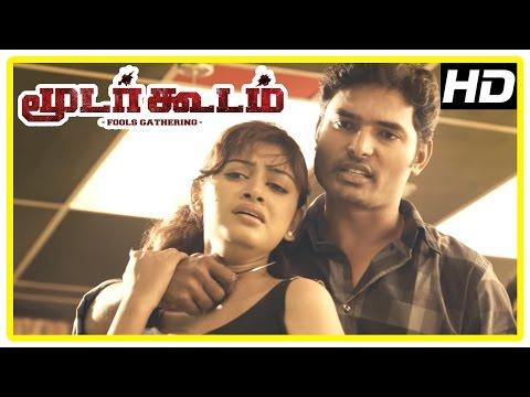 Moodar Koodam Movie Scenes | Naveen Realises Jayaprakash's Partner Has Money | Oviya