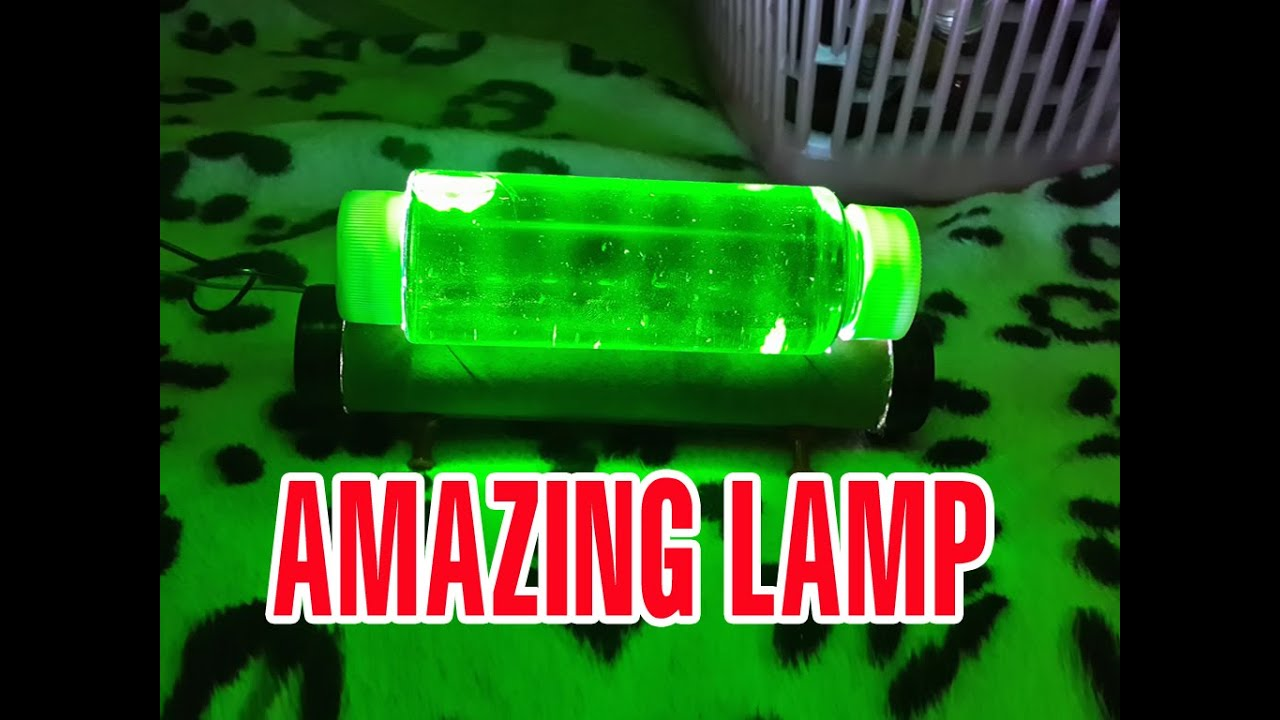 Make A Green Light Lamp At Home Funny Ideas YouTube