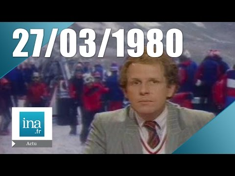 20h Antenne 2 du 27 mars 1980 - Inflation en France | Archive INA