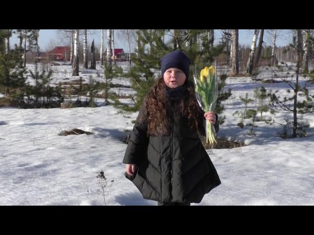 Изображение предпросмотра прочтения – МаринаРябинина читает произведение «Весна (Зима не даром злится…)» Ф.И.Тютчева