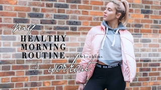 MY HEALTHY MORNING ROUTINE + WORK OUT || STYLE LOBSTER Ad