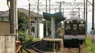 福島交通 医王寺前 1000系 普通列車