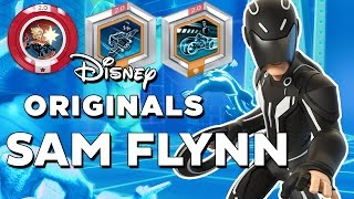 Disney Infinity 2.0 Sam Flynn (Tron) Gameplay and Skills + Power Discs