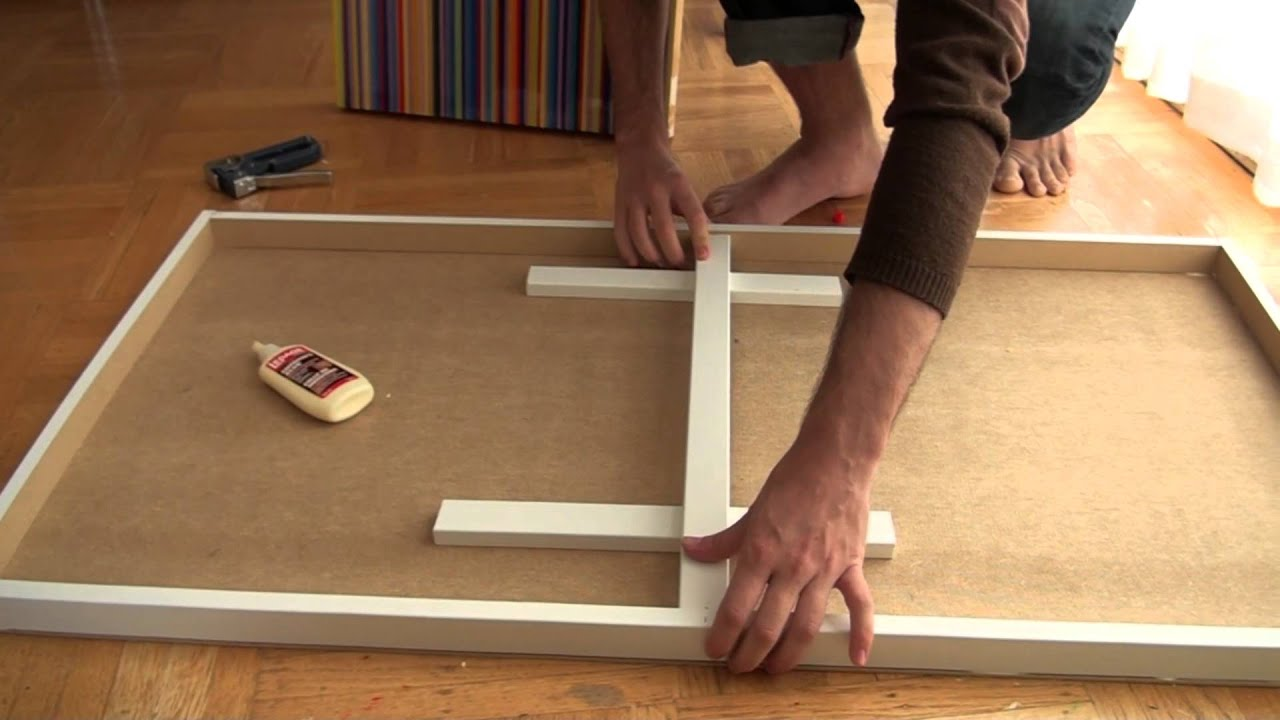 how to make a cradled wood panel inexpensively youtube