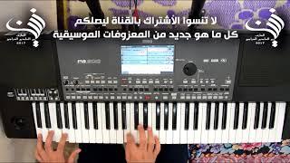 عزف اغنية فوك النخل فوك للفنان ناظم الغزالي | Audio HD 2017