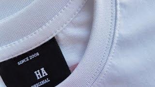 How to sew T-SHIRT part 1 Tutorial . Jak uszyć koszulkę z rozszyciami na okrak
