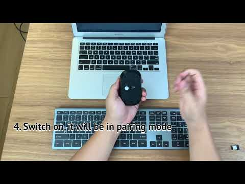 Seenda Wireless Keyboard & Mouse Combo Replacement USB Tutorial