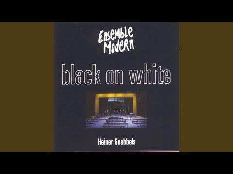Black On White - Music Theatre: Du der Lesende...