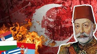 EMPIRE OTTOMAN VS BALKAN LEAGUE !!! - The Great War - Mod HOI4 FR