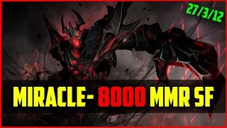 Miracle-  8000mmr Shadow Fiend /w Bulldog Storm | Ranked Dota 2 Gameplay