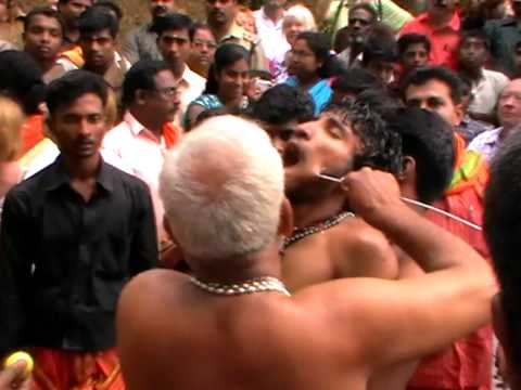 Piercing the Body in Hindu Religious Festival 1 of 2