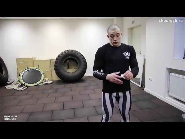 Виктор Блуд - Как Накачаться С Помощью Гири? Тренировка Всего Тела