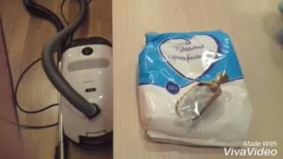 КАК очистить ковер: крахмалом или vanish?