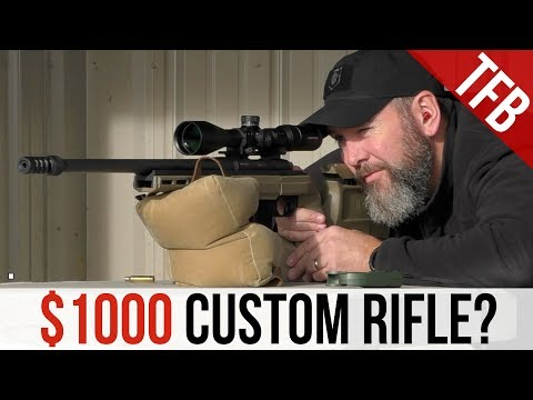 How To Build a Good Precision Rifle for $1,000