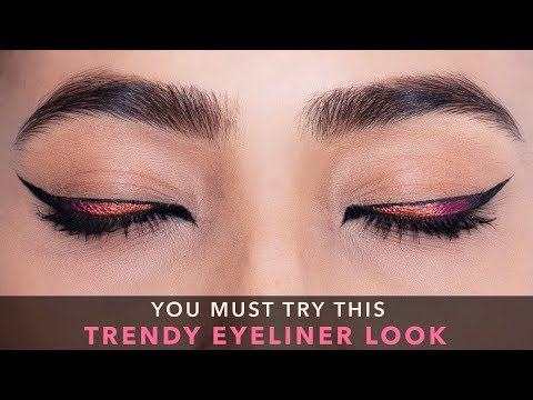 How To: Winged Cat Eyeliner Tutorial | Glamrs Makeup with Pallavi Symons