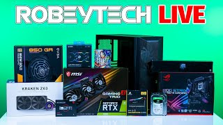 CarterPC / Robeytech PC Collaboration- Giveaways + $2600 Build (Intel 10700k / MSI RTX 3080)