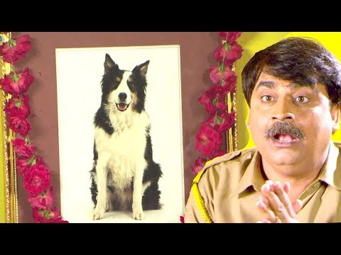 Anand Mohan - कुकुर भक्त सिपाही - Comedy Scene From Bhojpuri Film Karela Kamal Dharti Ke Lal