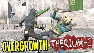 Ninja Bunny Vs Evil Kitty Cats Overgrowth Gameplay Therium 2 Mod