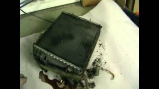 Как снимать радиатор печки на ваз 2107 видео