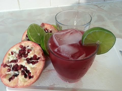 pomegranate juice recipe best in the world