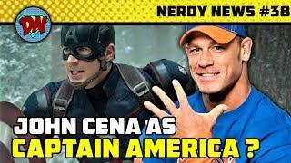 Avengers 4 Trailer Breaks Record, John Cena Captain America,  Aquaman Box Released | Nerdy News #38