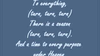 The Byrds~Turn, Turn, Turn lyrics