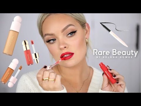 TESTING RARE BEAUTY BY SELENA GOMEZ - MY FIRST IMPRESSIONS, THOUGHTS & REVIEW!