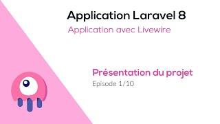 Miniature catégorie - Application Laravel et Livewire - Présentation du projet