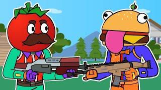 Tomato & Burger | Fortnite Animation (ALL EPISODES)