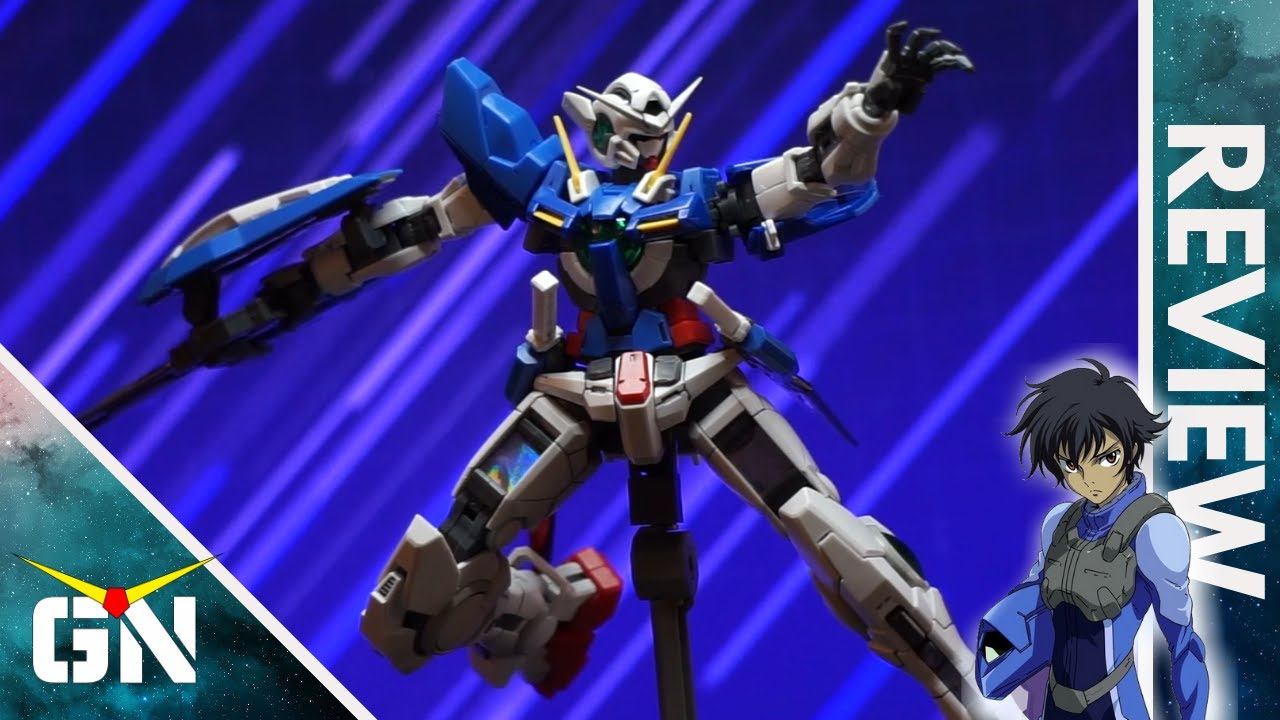 RG 1/144 Exia Gundam   REVIEW