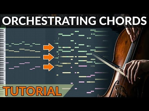 How To Orchestrate A Chord Progression (from Piano to Full Orchestra)