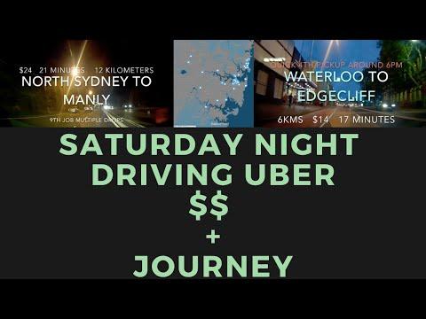 A Saturday Night Ride Sharing In Sydney Australia - Uber, Ola