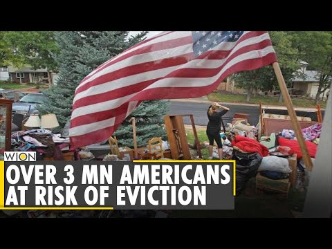Historic eviction crisis looms over US | COVID-19 | Delta Variant
