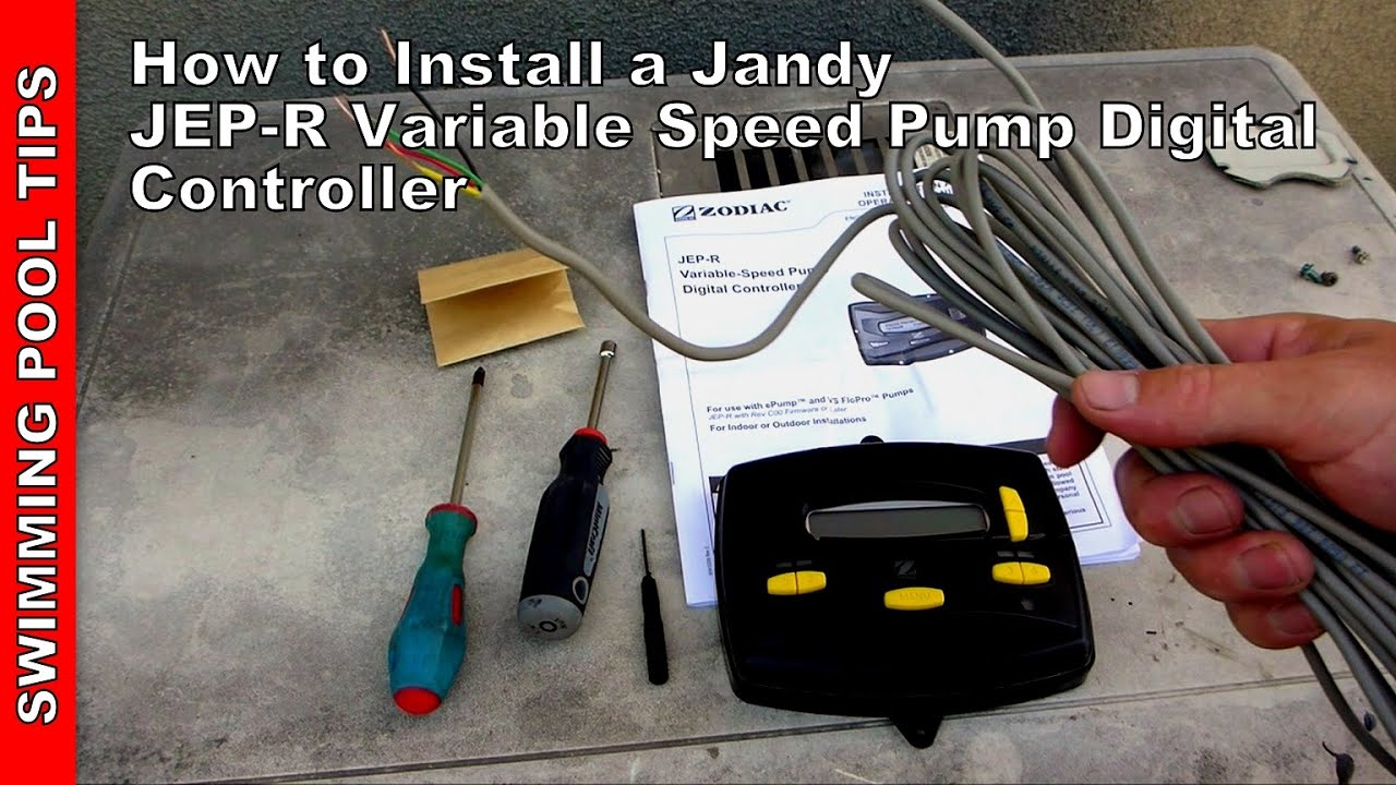 how to install a jandy jep r variable speed pump controller [ 1280 x 720 Pixel ]