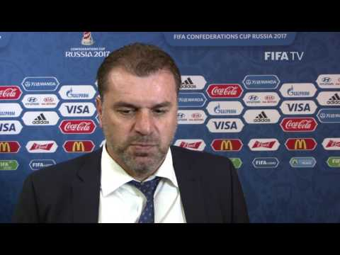Ange Postecoglou Reaction to FIFA Confederations Cup Official Draw