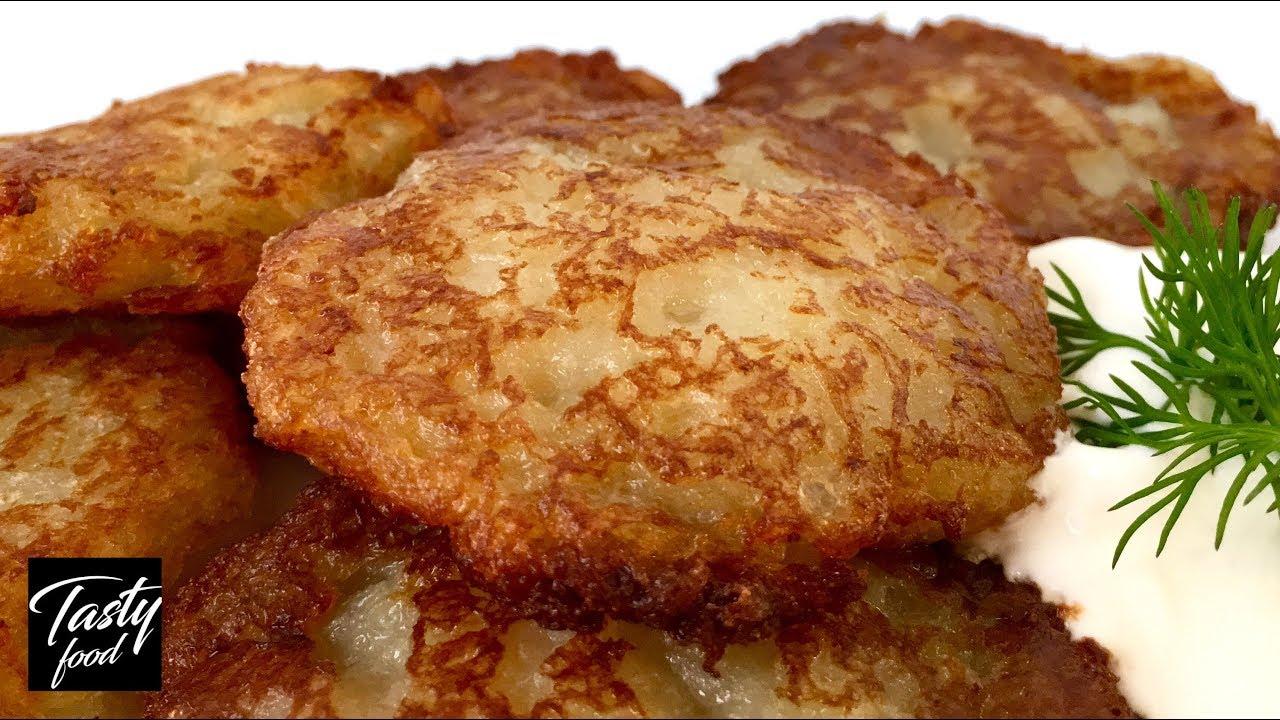 Приготовить из Картофеля Драники |  Рецепт НАСТОЯЩИХ ДРАНИКОВ и Яиц!