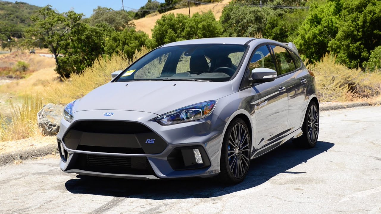 Ford Focus Rs Grey Focus Rs Review The Funnest Ford Youtube