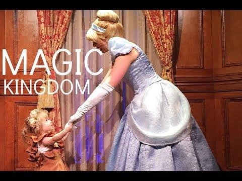 Meeting Tinkerbell, Cinderella, Rapunzel, and Ariel at Disney World 2015
