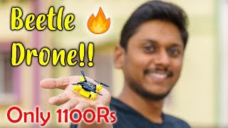 Beetle DRONE!! Amazing Nano Camera Drone for only 1100Rs