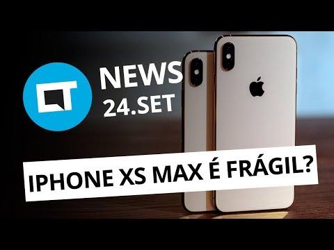 Teste de durabilidade do iPhone XS Max; OnePlus 6 com Android 9 e+ [CT News]