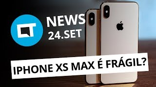 Teste de durabilidade do iPhone XS Max; OnePlus 6 com Android 9 e+ [CT News]