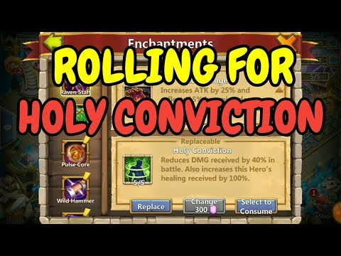 Rolling For Holy Conviction L Castle Clash