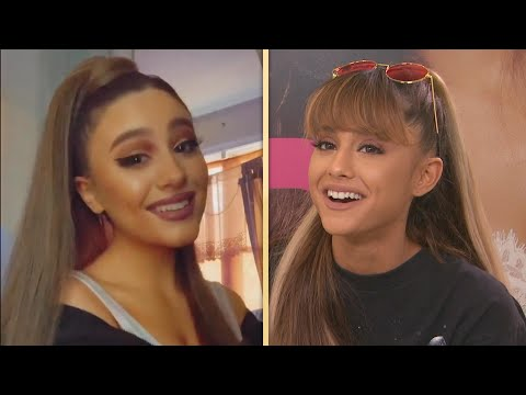 Ariana Grande REACTS to TikTok Look-Alike!